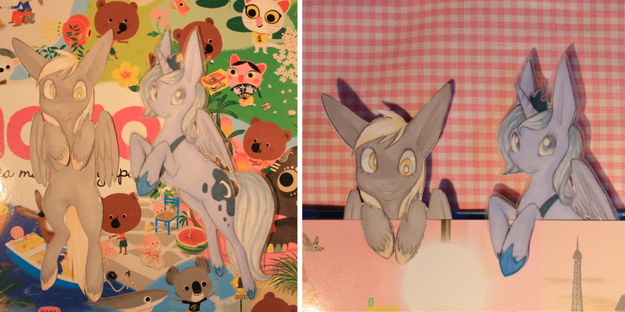 Princess Luna bookmark (season 1) by piikunen