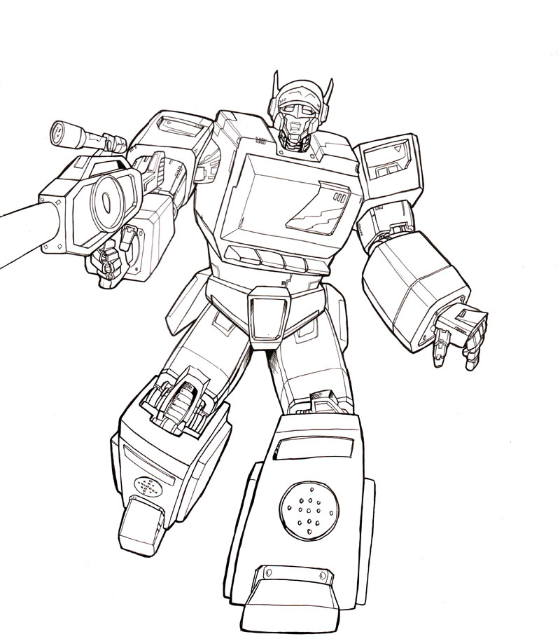 Transformer Coloring Pages. free printable transformers coloring ... | 912x800