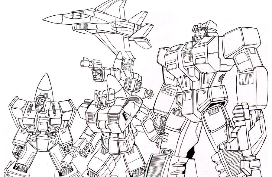 aerialbots coloring pages - photo#1