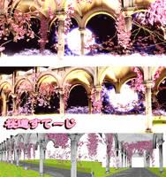 . : DL SERIES : . Sakura-do stage by NightLightStar01
