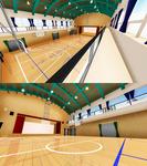 . : DL SERIES : . High School Style Gymnasium