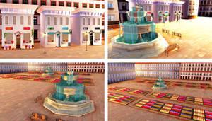 . : DL SERIES : . Flowerbed Square by NightLightStar01