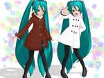 .: DL SERIES : .Animasa duffle coat Miku