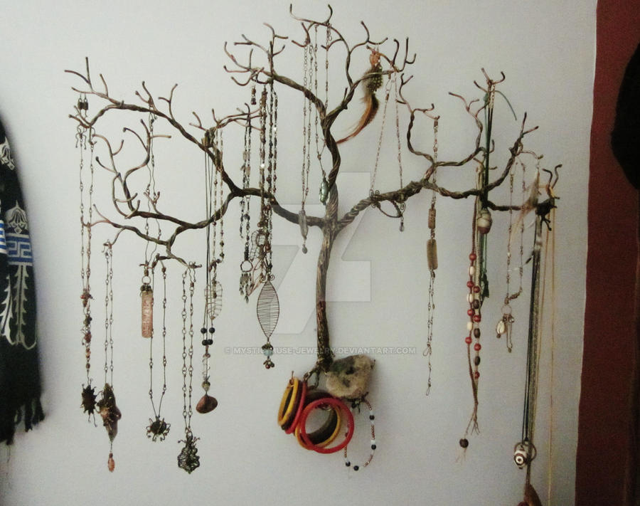 Weeping Willow Jewelry Tree By Mystic Muse Jewelry On