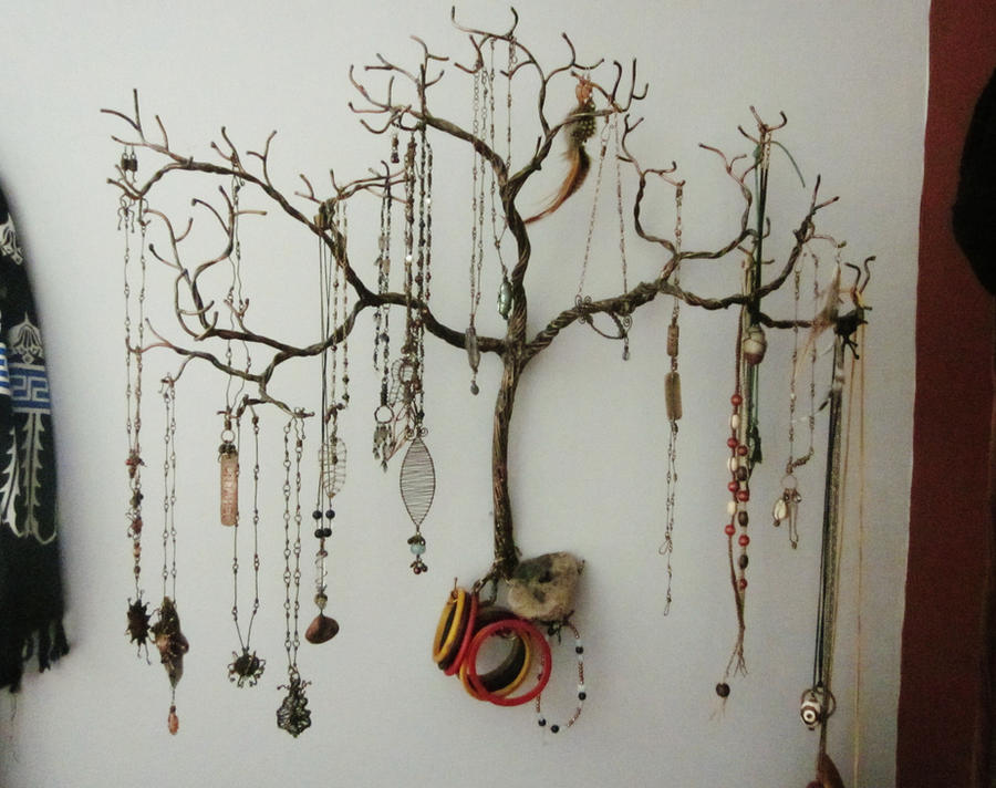 Weeping Willow Jewelry Tree By Mystic Muse On Deviantart