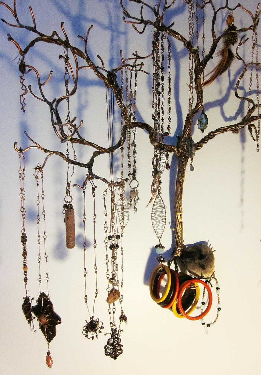 Weeping Willow Jewelry Tree2 By Mystic Muse On
