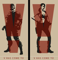 V has come to. (Part 1) by Patroner