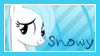 MLP OC Snowy Stamp by DBluver