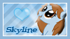 Skyline Stamp by DBluver