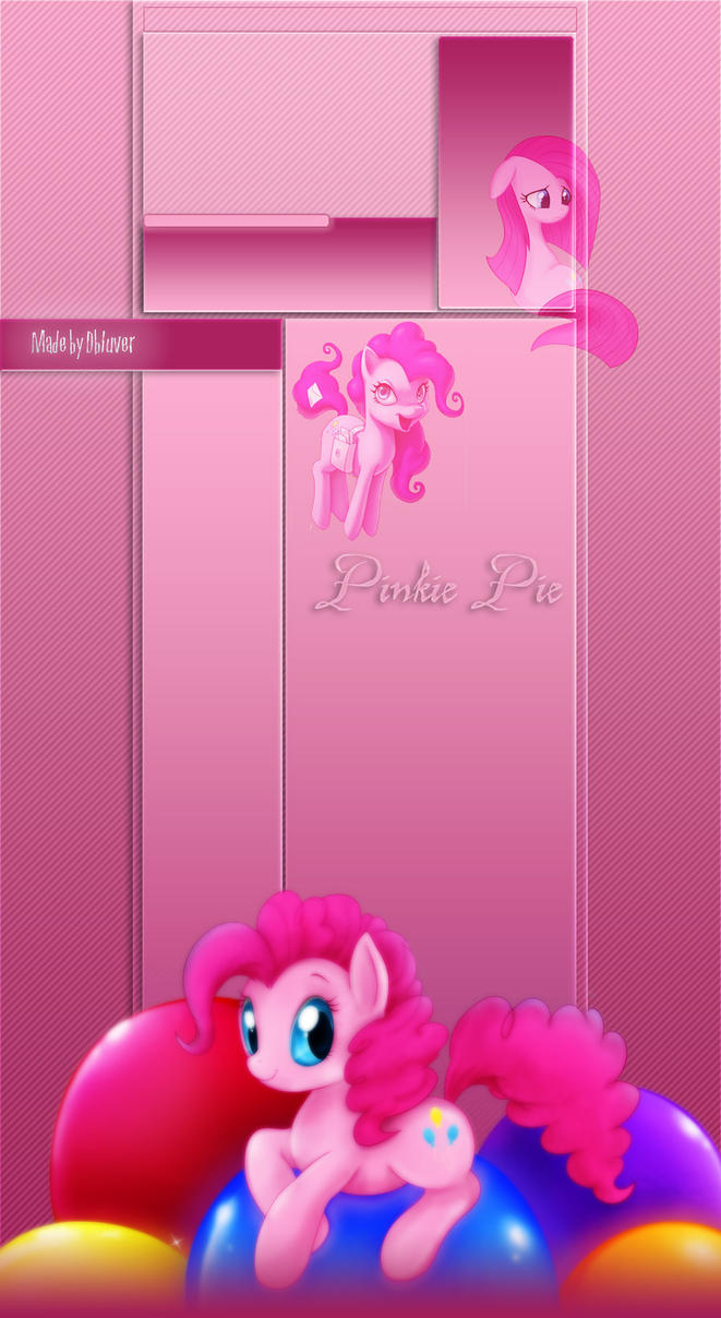 Pinkie Pie Youtube BG by DBluver