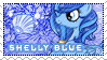 Shelly Blue Stamp Commission by DBluver