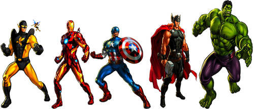 Avengers Assemble! by JMoney667