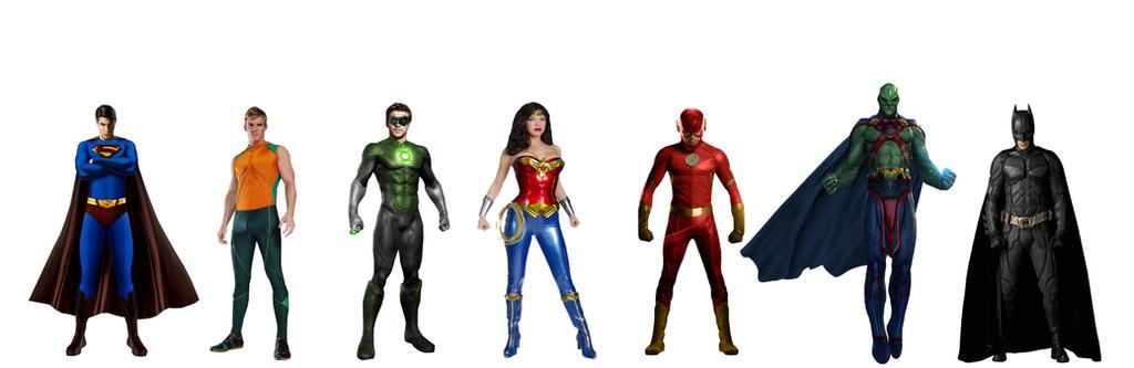 Parallel Earth Original Justice League by JMoney667