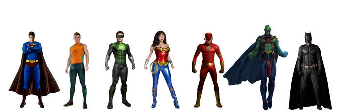 Parallel Earth Original Justice League by JMoney667