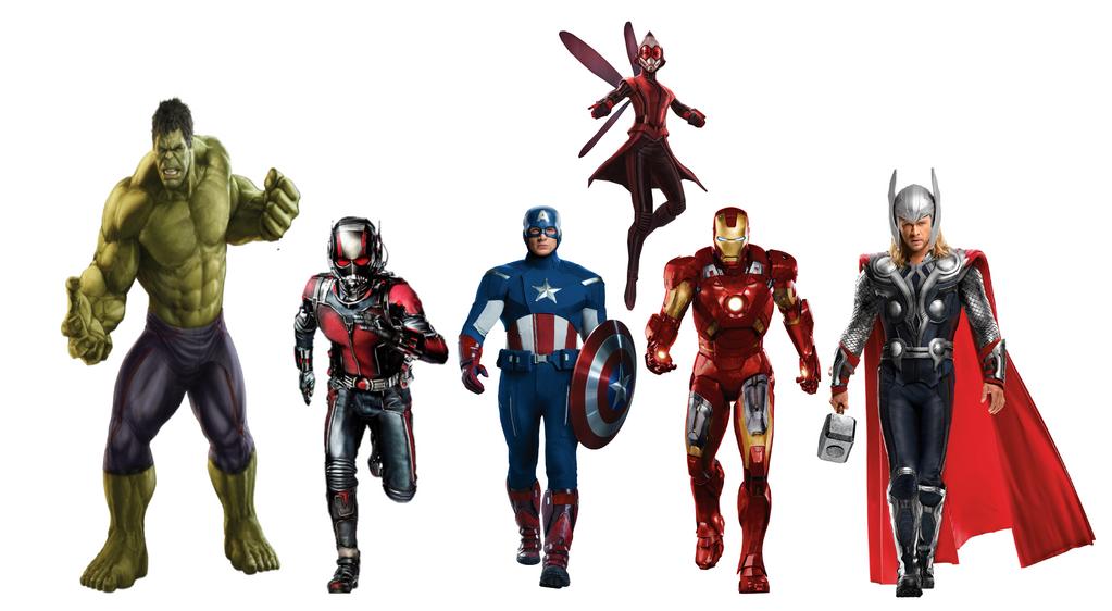 The Avengers slow walk by JMoney667