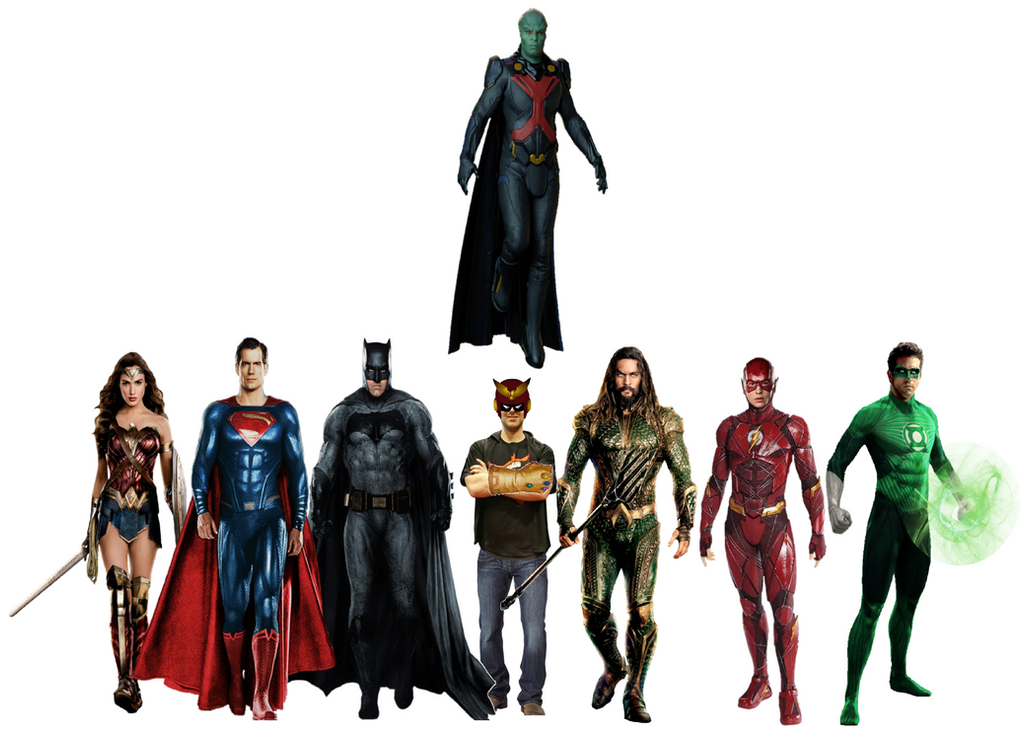 Myself with The Original Justice League by JMoney667
