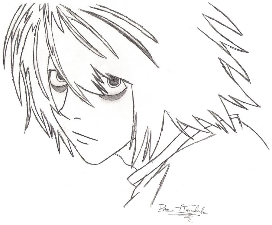 Near Death Note Chibi Coloring Pages Coloring Pages