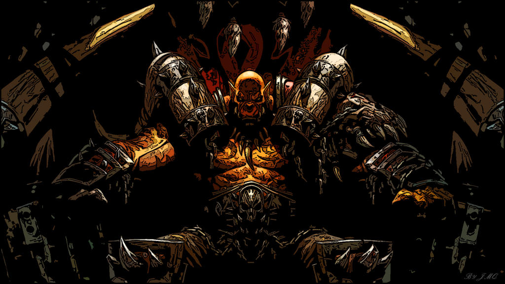 Garrosh Hellscream by Susano360 on DeviantArt