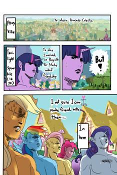 My Little Pony Friendship is....