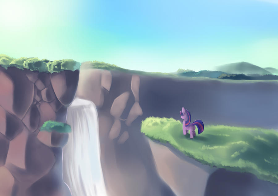 MLP Waterfall by freedomthai