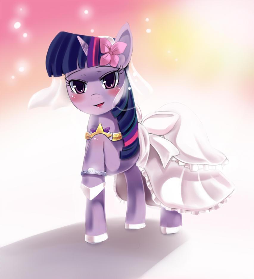 Twilight Wedding Dress by freedomthai