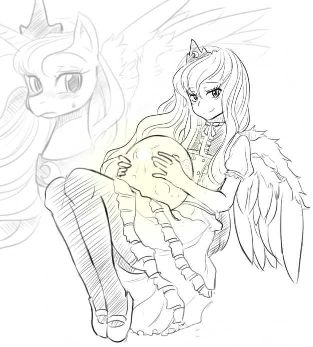 my little pony coloring page princess celestia images