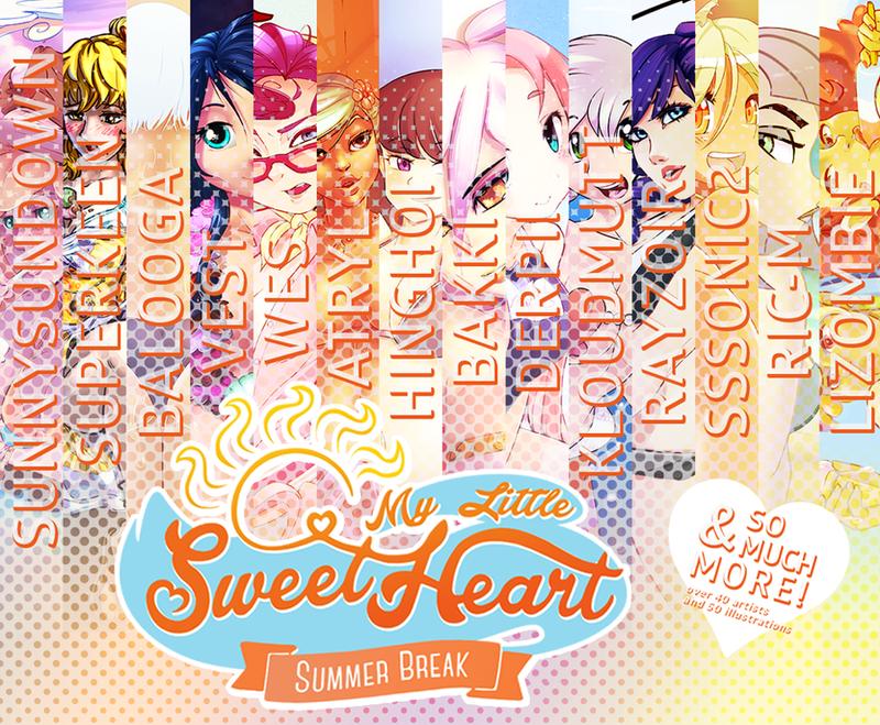 My Little Sweetheart: Summer Break by freedomthai