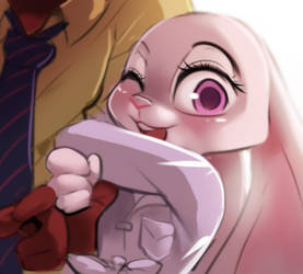 Judy and Nick by freedomthai