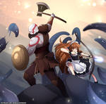 Kratos and his belove son