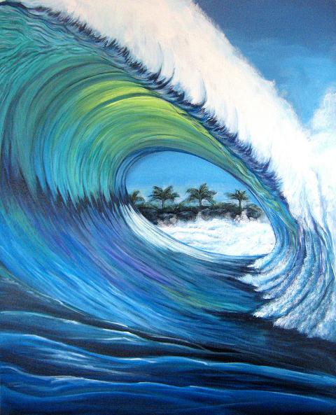 Green Wave by samiem
