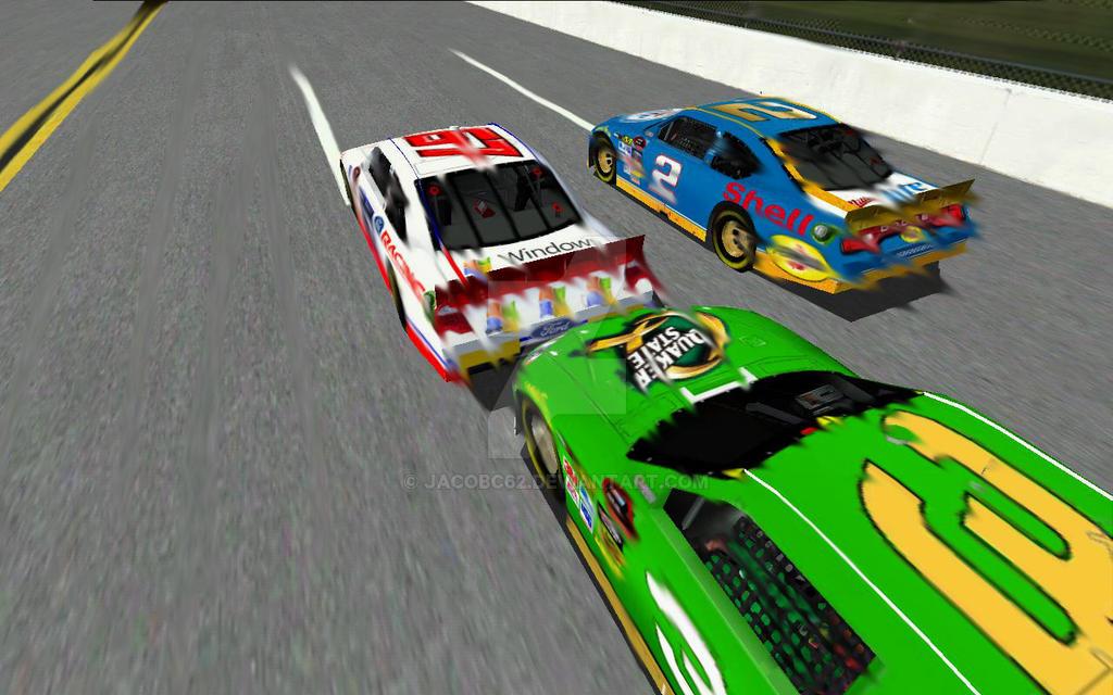Bumper Car Game Retri