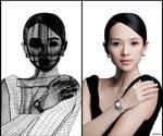 Gradient Mesh: Zhang Ziyi