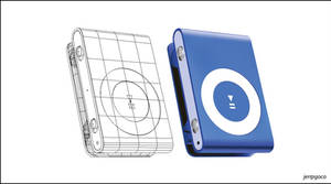 Gradient Mesh: Ipod Shuffle