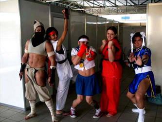 Street Fighter or Strap Fighter??? by Joe-Zuko