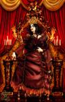 Queen Of Hearts Enthroned
