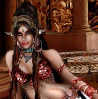 Zenobia, Palmyrene Queen by BlackWolf-Studio