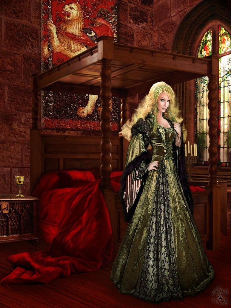 Cersei Lannister By Blackwolf Studio On Deviantart