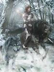 Robb Stark and Grey Wind
