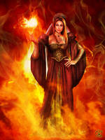 Melisandre of Asshai by BlackWolf-Studio