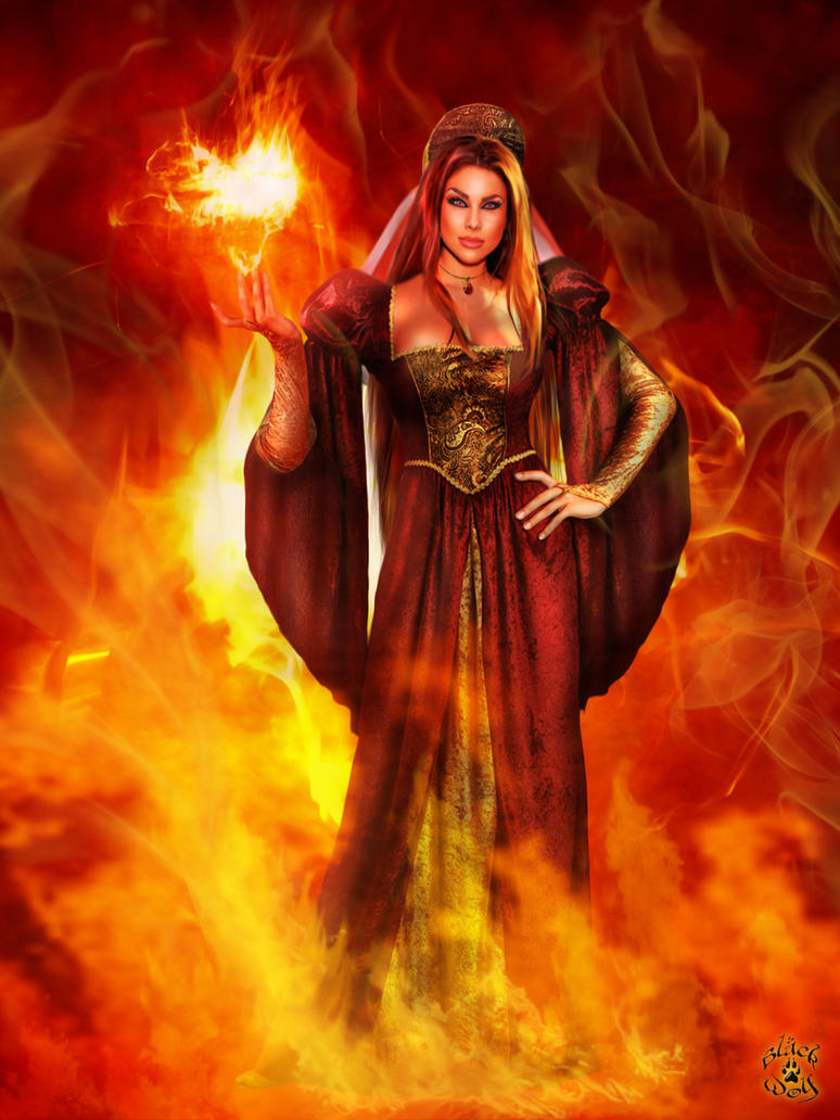 Melisandre of Asshai by BlackWolf-Studio