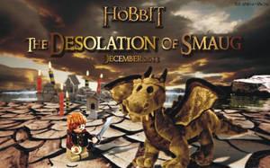Desolation of Smaug - Lego-Bilbo