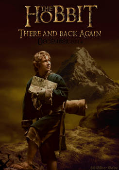Poster - The Hobbit-There and Back Again