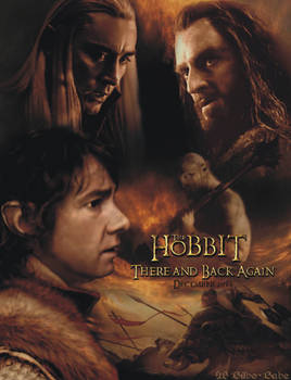 The Hobbit - There and Back Again Cover