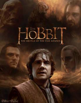 The Hobbit- Battle of Five Armies Poster