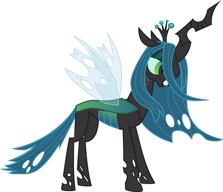 Queen Chrysalis Vector By Red pear On DeviantArt