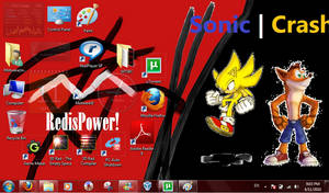 My Desktop - Windows 7 by three3world