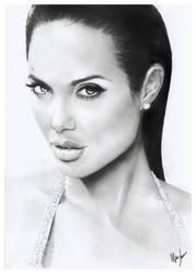 Angelina Jolie by Jerner