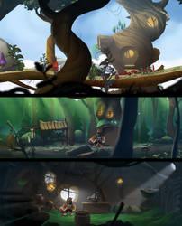 Level designs by Jerner
