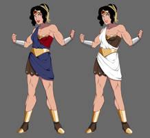 Wonder Woman Redesign by DeeTheArtist