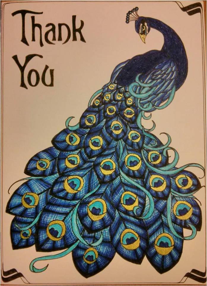 peacock card design by xxxpicapicaxxx on deviantart